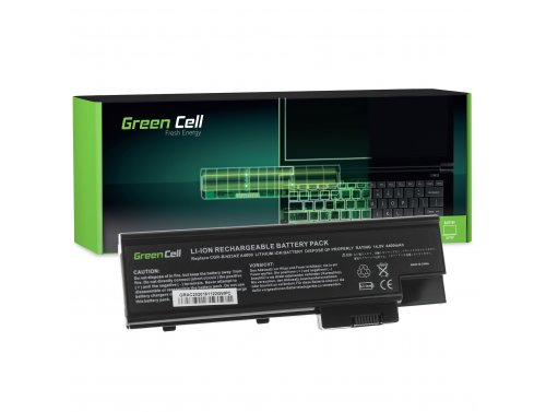 Green Cell ® Laptop Akku LIP-6198QUPC LIP-8208QUPC für Acer Aspire 5620 7000 9300 9400 TravelMate 5100 5110 5610 5620 14.4V