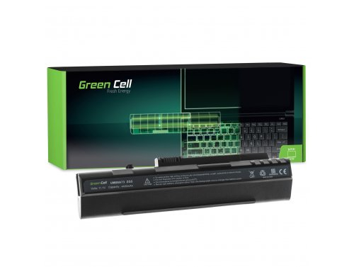 Green Cell ® Laptop Akku UM08A31 UM08B31 für Acer Aspire One A110 A150 D150 D250 ZG5