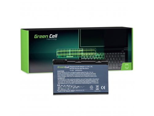 Green Cell Laptop Akku BATBL50L6 BATCL50L6 für Acer Aspire 3100 3650 3690 5010 5100 5200 5610 5610Z 5630 TravelMate 2490 14.8V