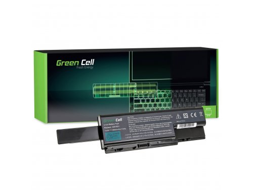 Green Cell ® Laptop Akku AS07B31 AS07B41 AS07B51 für Acer Aspire 7720 7535 6930 5920 5739 5720 5520 5315 5220 6600mAh