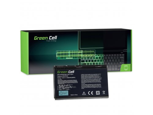 Green Cell ® Laptop Akku GRAPE32 TM00741 TM00751 für Acer TravelMate 5220 5520 5720 7520 7720 Extensa 5100 5220 5620 5630 14.8V