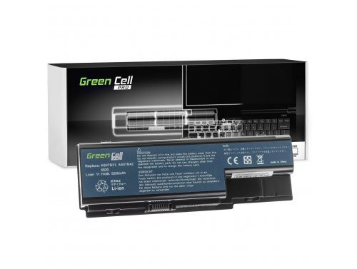 Green Cell PRO Laptop Akku AS07B31 AS07B41 AS07B51 für Acer Aspire 5220 5315 5520 5720 5739 7535 7720 5720Z 5739G 5920G 6930G