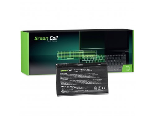 Green Cell Laptop Akku GRAPE32 TM00741 TM00751 für Acer Extensa 5210 5220 5230 5230E 5420 5620 5620Z 5630 5630EZ 5630G 11.1V