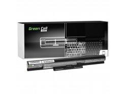 Green Cell PRO ® Laptop Akku VGP-BPS35A für Sony Vaio SVF14 SVF15 Fit 14E Fit 15E