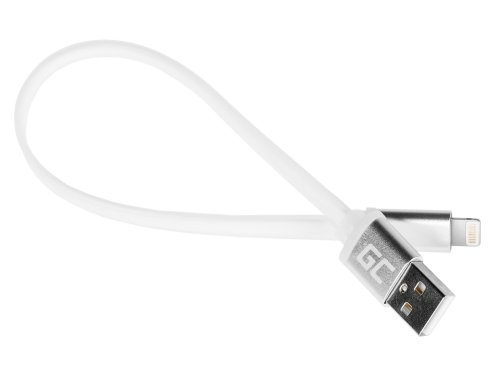 Kabel Draht Green Cell ® Lightning-USB für Apple iPhone Wohnung 25cm