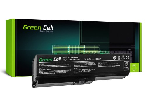 Green Cell Laptop Akku PA3634U-1BRS für Toshiba Satellite A660 C650 C660 C660D L650 L650D L655 L655D L670 L670D L675 M500 U500