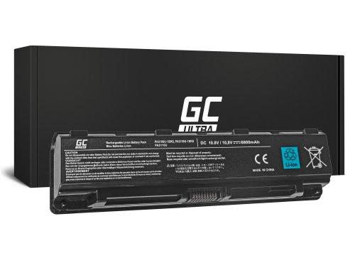 Green Cell ULTRA Laptop Akku PA5109U-1BRS PA5110U-1BRS PABAS272 für Toshiba Satellite C50 C50D C55 C55D C70 C75 C75D L70