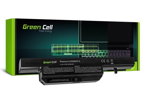 Green Cell Laptop Akku C4500BAT6 C4500BAT-6 für Clevo B7130 C4100 C4500 C4501 C5500 W150 W150ER W150ERQ W170 W170ER W170HR