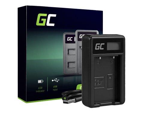 Ladegerät MH-65 Green Cell ® für Nikon EN-EL12, Coolpix A900 P300 P310 P330 S31 S70 S710 S6000  W300 (4.2V 2.5W 0.6A)