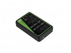 Kamera Akku-Ladegerät MH-65 Green Cell ® für Nikon EN-EL12, AW100S, S640, AW100, P300, P330, P310, S70 S6000