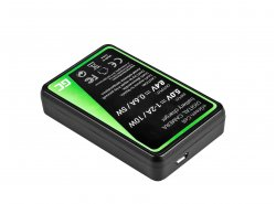 Kamera Akku-Ladegerät MH-23 Green Cell ® für Nikon EN-EL9, DSLR D40, D40X, D60, D3000, D5000