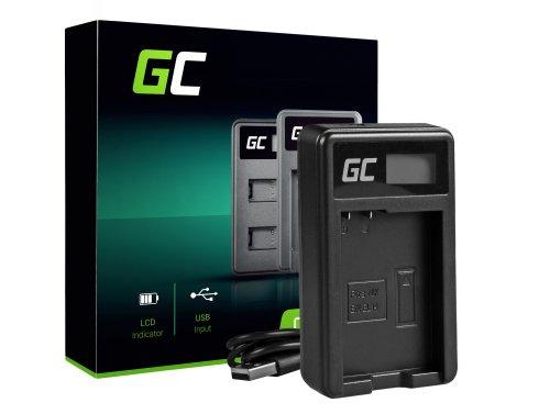 Ladegerät MH-24 Green Cell ® für Nikon EN-EL14, D3200 D3300 D5100 D5200 D5300 D5500 Coolpix P7000 P7700 P7800 (8.4 5W 0.6A)