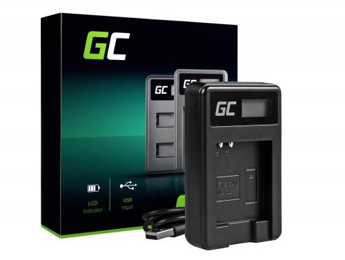 Ladegerät CB-2LY Green Cell ® für Canon NB-6L 6LH, PowerShot SX510 HS SX520 HS SX530 HS SX600 HS SX700 HS D30 S90 S95 S120 S200