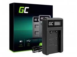 Nabíječka baterií do fotoaparátu CB-2LW Green Cell Cell® pro Canon NB-2L / NB-2LH, PowerShot G7 G9 S70 S80 R100 R11 Canon Elura