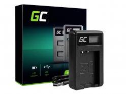 Kamera Akku-Ladegerät LC-E17 Green Cell ® für Canon LP-E17, EOS 77D, 750D, 760D, 8000D, M3, M5, M6