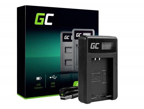 Ladegerät LC-E12 Green Cell ® für Canon LP-E12, EOS-M M2 M10 M100 100D Rebel SL1 (8.4V 5W 0.6A Schwarz)