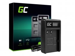 Ladegerät CB-5L Green Cell ® für Canon BP-511 PowerShot G1 G2 G3 G5 G6 90 Pro EOS Kiss Digital Optura 20 D60 300D (8.4V 5W 0.6A)