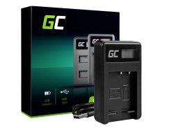 Kamera Akku-Ladegerät BC-CSG Green Cell ® für Sony NP-BG1/NP-FG1, DSC H10, H20, H50, HX5, HX10, T50, W50, W70