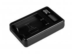 Kamera Akku-Ladegerät BC-W126 Green Cell ® für Fujifilm NP-W126, FinePix HS30EXR, HS33EXR, HS50EXR, X-A1, X-A3, X-E1