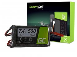 Green Cell ® Akku 500mAh 7.4V
