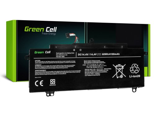 Green Cell Laptop Akku PA5149U-1BRS für Toshiba Tecra Z40 Z40-A-13Q Z40-A-167 Z50 Z50-A-15P Z50-A-16C