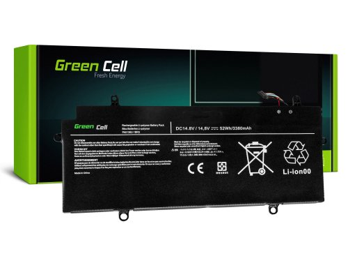 Green Cell ® Akku PA5136U-1BRS für Toshiba Portege Z30 Z30-A-186 Z30-B-119 Z30t Z30t-A-11P