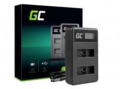 Kamera Akku-Ladegerät AHBBP-501 Green Cell ® für GoPro AHDBT-501, HD Hero5, HD Hero6+
