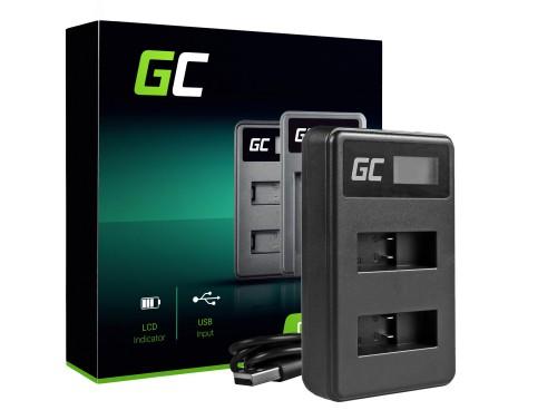 Ladegerät AHBBP-501 Green Cell ® für GoPro AHDBT-501, Hero5 Hero6 Hero7 HD Black White Silver Edition (4.35V 2.5W 0.6A)