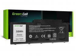Baterie notebooku F7HVR pro notebooky Green Cell Inspect pro Dell Inspiron 15 7537 17 7737 7746, Dell Vostro 14 5459