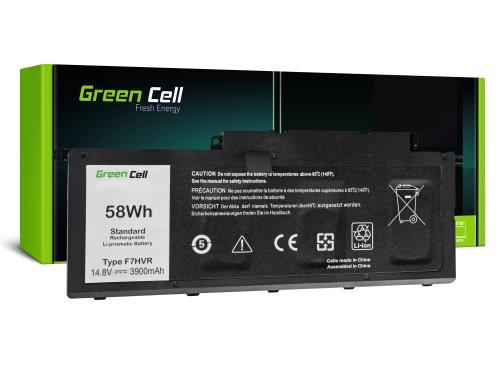 Green Cell Laptop Akku F7HVR 62VNH G4YJM 062VNH für Dell Inspiron 15 7537 17 7737 7746 P24E
