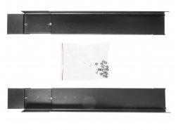 """19""""-Rack-Montageschienen verstellbare Länge 600mm-800mm, ein Satz von 2 Stücken"""