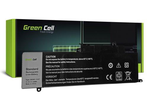 Green Cell Laptop Akku GK5KY für Dell Inspiron 11 3147 3148 3152 3153 3157 3158 13 7347 7348 7352 7353 7359