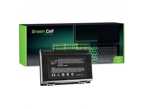 Green Cell Laptop Akku FPCBP176 für Fujitsu LifeBook A8280 AH550 E780 E8410 E8420 N7010 NH570