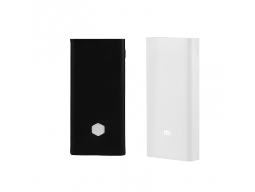 Set: Power Bank Xiaomi 20000mAh 2C und Silikonhülle Xiaomi