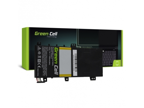 Green Cell Laptop Akku C21N1333 für Asus Transformer Book Flip TP550 TP550L TP550LA TP550LD