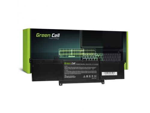 Green Cell Laptop Akku C21N1309 für Asus VivoBook Q301 Q301L Q301LA S301 S301L S301LA S301LP