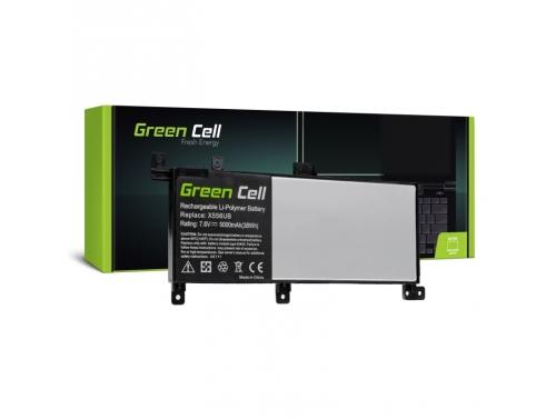 Green Cell Laptop Akku C21N1509 für Asus X556U X556UA X556UB X556UF X556UJ X556UQ X556UR X556UV
