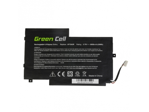 Bateria Green Cell AP15A3R do Acer Aspire Switch 10 E SW3 SW3-013 SW3-016