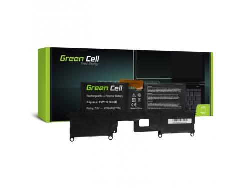 Green Cell ® Akku VGP-BPS37 für Sony Vaio Pro 11 SVP11