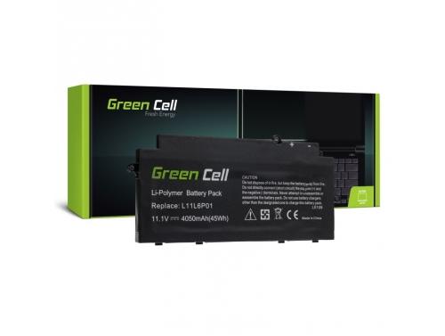 Green Cell ® Akku L11L6P01 L11M3P02 für Lenovo IdeaPad U510