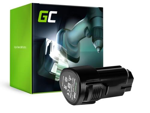 Green Cell ® Akkuwerkzeug L1215 für AEG BBH12 BBS12C BBS12C2 BS12C BS12C2 BSB12C BSB12C2 OMNI 12C