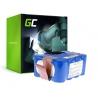 Green Cell® Batterie Akku (3Ah 14.4V) für EcoGenic, Hoover, Indream, JNB, Kaily, Robot, Samba
