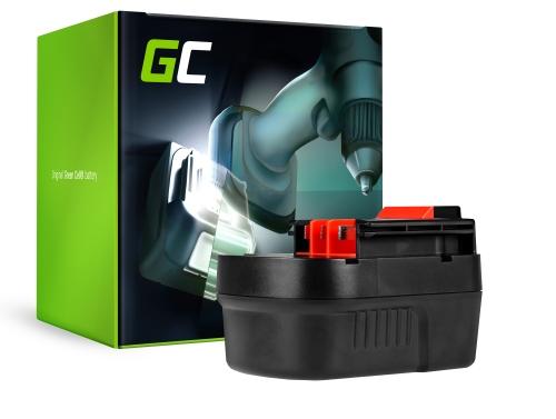 Green Cell® Batterie Akku (2Ah 12V) A12 A1712 HPB12 FSB12 für Black&Decker BD12PSK HP12K HPD1202 PS122K Firestorm FS1200D