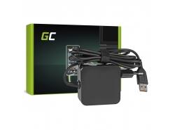 Green Cell ® Netzteil / Ladegerät für Laptop Lenovo Yoga 3 PRO 20V 2A