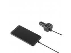 Nabíječka 1x USB-C Power Delivery max. 24W (5V/3A, 9V/2A, 12V/2A),  1x USB Quick Charge 3.0 (3.6-6.5V/3A, 6.5V-9V/2A, 9-12V/1.5A)