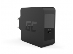 Green Cell USB-C 60W Ladegerät PD mit Kabel USB-C für Apple MacBook Pro 13, Asus ZenBook, HP Spectre, Lenovo ThinkPad und andere