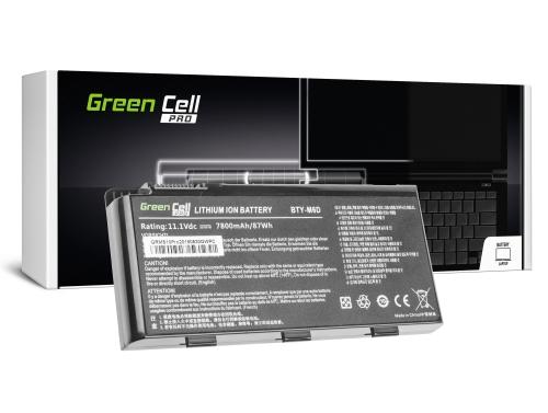 Green Cell PRO Laptop Akku BTY-M6D für MSI GT60 GT70 GT660 GT680 GT683 GT683DXR GT780 GT780DXR GT783 GX660 GX680 GX780