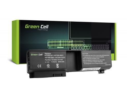 Green Cell Laptop Akku HSTNN-OB37 für HP Pavilion TX1000 TX2000 TX2500 TouchSmart TX2