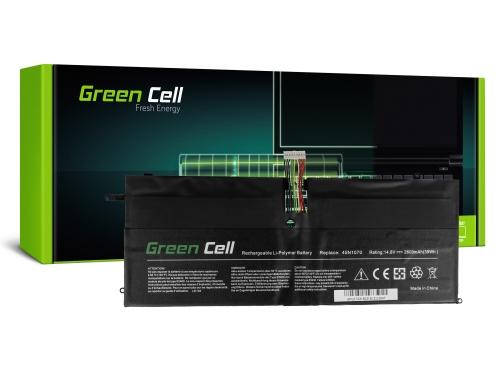 Green Cell Laptop Akku 45N1070 45N1071 für Lenovo ThinkPad X1 Carbon 1 Gen 3443 3444 3446 3448 3460 3462 3463