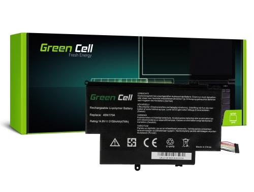 Green Cell Laptop Akku 45N1704 45N1705 45N1706 für Lenovo ThinkPad Yoga S1 12 20DK 20DL